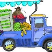 Link toCartoon car transporter elements vector 03