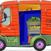 Link toCartoon car transporter elements vector 04