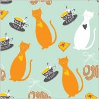 Link toCartoon cat background 04 vector