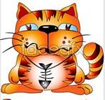 Link toCartoon cat vector