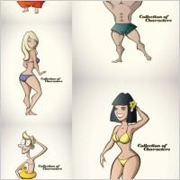 Link toCartoon character vector