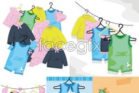 Link toCartoon child clothing vector graphics