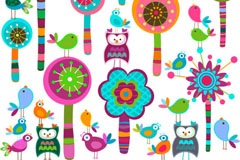 Link toCartoon child color tag vector