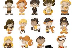 Link toCartoon child design vector