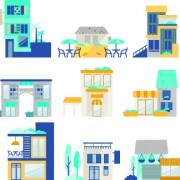 Link toCartoon city vector illustration 02