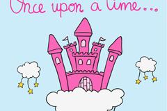 Link toCartoon cloud castle vector illustration
