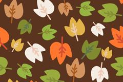 Link toCartoon color leaf background vector