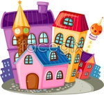 Link toCartoon construction housing vector