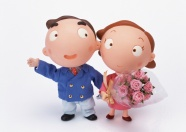 Link toCartoon couples picture material download