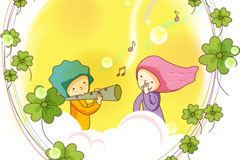 Link toCartoon couples vector illustration
