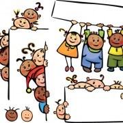 Link toCartoon cute kids vector 05