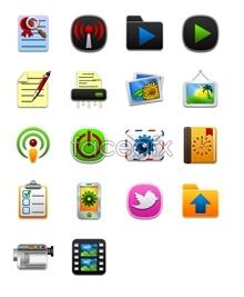 Link toCartoon designed computer icons