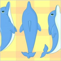 Link toCartoon dolphin