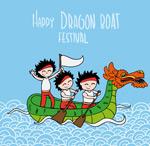 Link toCartoon dragon illustration vector