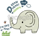 Link toCartoon elephant illustrations vector