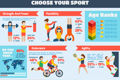 Link toCartoon exercise fitness graphic vector
