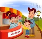 Link toCartoon family illustration 9 vector
