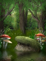 Link toCartoon fantasy forest picture download