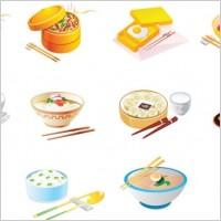 Link toCartoon food icon vector