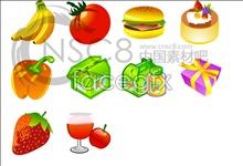 Link toCartoon food icons