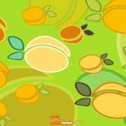 Link toCartoon food pattern design vector 04 free