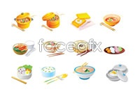 Link toCartoon footage food icon vector illustration