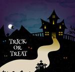 Link toCartoon halloween castle vector