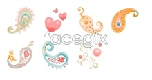 Link toCartoon heart-pattern icons
