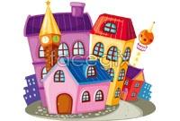 Link toCartoon houses vector