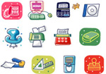 Link toCartoon icon of office
