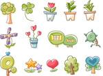 Link toCartoon icon plant