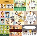 Link toCartoon illustrations for children 1 vector
