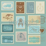 Link toCartoon illustrations of stamps 05 vector