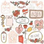 Link toCartoon love vector graphics
