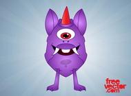 Link toCartoon monster graphics vector free