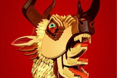 Link toCartoon monster mask design vector