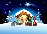 Link toCartoon nativity vector free