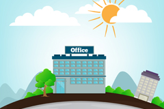 Link toCartoon office vector illustration