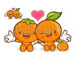 Link toCartoon orange vector