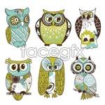 Link toCartoon owl illustration vector