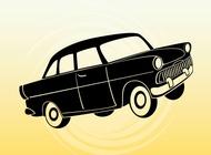 Link toCartoon passenger car vector free