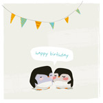 Link toCartoon penguin birthday backgrounds vector