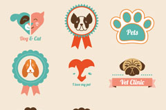 Link toCartoon pet tag vector