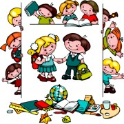 Link toCartoon school children cute design vector 02 free