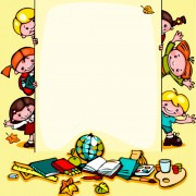 Link toCartoon school children cute design vector 03 free