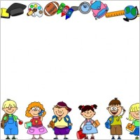 Link toCartoon school supplies 03 vector