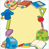 Link toCartoon school supplies 05 vector