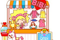 Cartoon shop vector