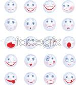 Link toCartoon smiley face vector