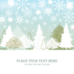 Link toCartoon snow pine vector
